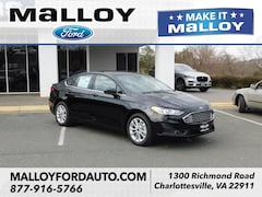 New 2019 Ford Fusion SE Sedan 3FA6P0HD9KR194744 for sale at your Charlottesville VA used Ford authority
