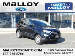 New 2019 Ford EcoSport SE SUV MAJ6S3GL3KC253262 for sale at your Charlottesville VA used Ford authority