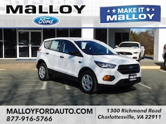 New 2019 Ford Escape S SUV 1FMCU0F70KUA91462 for sale at your Charlottesville VA used Ford authority