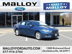 New 2019 Ford Fusion SE Sedan 3FA6P0HD1KR194740 for sale at your Charlottesville VA used Ford authority