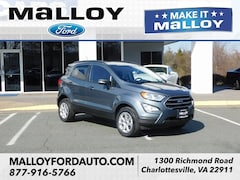 New 2019 Ford EcoSport SE SUV MAJ6S3GL3KC255349 for sale at your Charlottesville VA used Ford authority