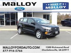 New 2019 Ford Escape S SUV 1FMCU0F77KUA91460 for sale at your Charlottesville VA used Ford authority