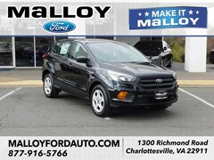 New 2019 Ford Escape S SUV for sale at your Charlottesville VA used Ford authority