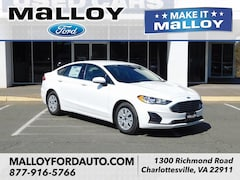 New 2019 Ford Fusion S Sedan 3FA6P0G77KR194737 for sale at your Charlottesville VA used Ford authority