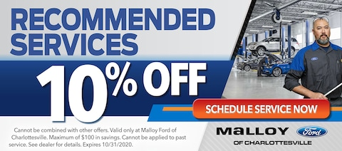10% off Recommended Services