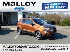 Certified Pre-owned 2018 Ford EcoSport Titanium SUV MAJ6P1WL2JC195778 for Sale in Charlottesville, VA