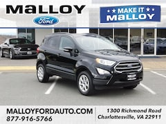New 2018 Ford EcoSport SE SUV MAJ6P1UL5JC243695 for sale at your Charlottesville VA used Ford authority