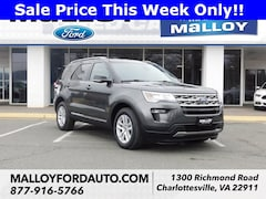 Certified Pre-owned 2018 Ford Explorer XLT SUV 1FM5K8D83JGB60392 for Sale in Charlottesville, VA