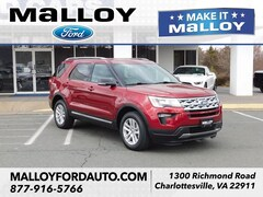 New 2019 Ford Explorer XLT SUV 1FM5K8D83KGA75943 for sale at your Charlottesville VA used Ford authority