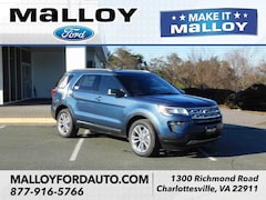 New 2019 Ford Explorer XLT SUV 1FM5K8D83KGA37824 for sale at your Charlottesville VA used Ford authority