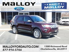 New 2019 Ford Explorer XLT SUV 1FM5K8D87KGA45148 for sale at your Charlottesville VA used Ford authority