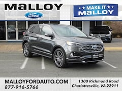 New 2019 Ford Edge Titanium SUV 2FMPK4K9XKBB34894 for sale at your Charlottesville VA used Ford authority