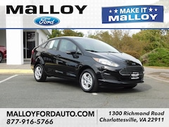New 2018 Ford Fiesta SE Sedan 3FADP4BJ8JM147567 for sale at your Charlottesville VA used Ford authority