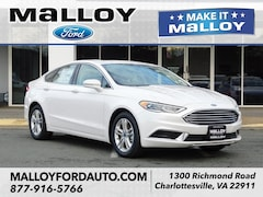 New 2018 Ford Fusion SE Sedan for sale at your Charlottesville VA used Ford authority