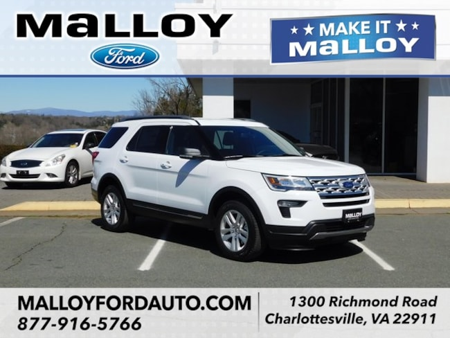 New  2019 Ford Explorer XLT SUV for sale at your Charlottesville VA used Ford authority