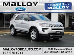 New 2019 Ford Explorer XLT SUV 1FM5K8D85KGA69643 for sale at your Charlottesville VA used Ford authority