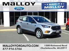 New 2019 Ford Escape S SUV 1FMCU0F72KUA91463 for sale at your Charlottesville VA used Ford authority