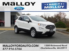 New 2018 Ford EcoSport SE SUV for sale at your Charlottesville VA used Ford authority