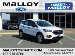 New 2019 Ford Escape S SUV 1FMCU0F76KUB21838 for sale at your Charlottesville VA used Ford authority