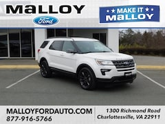 New 2019 Ford Explorer XLT SUV 1FM5K7D84KGA27037 for sale at your Charlottesville VA used Ford authority