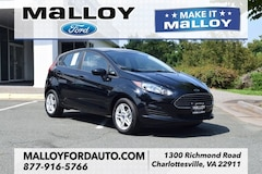 New 2018 Ford Fiesta SE Hatchback 3FADP4EJ6JM134098 for sale at your Charlottesville VA used Ford authority