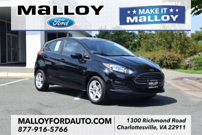 New  2018 Ford Fiesta SE Hatchback for sale at your Charlottesville VA used Ford authority