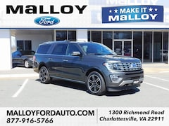 New 2019 Ford Expedition Max Limited SUV 1FMJK2AT8KEA24258 for sale at your Charlottesville VA used Ford authority