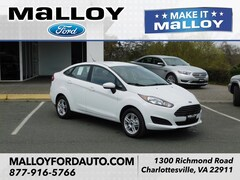 New 2019 Ford Fiesta SE Sedan 3FADP4BJ0KM131834 for sale at your Charlottesville VA used Ford authority