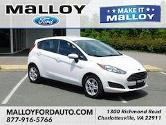 2018 Ford Fiesta SE Hatchback 3FADP4EJ7JM102020 for sale at your Charlottesville VA used Ford authority