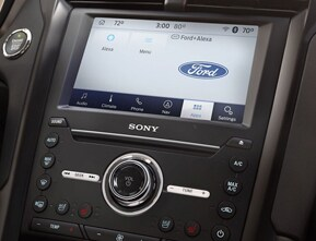 Ford+Alexa, a match made in tech heaven.