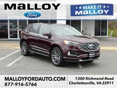 New 2019 Ford Edge Titanium SUV 2FMPK4K97KBB31449 for sale at your Charlottesville VA used Ford authority