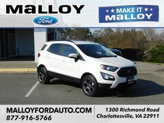 Certified Pre-owned 2018 Ford EcoSport SES SUV MAJ6P1CLXJC201508 for Sale in Charlottesville, VA