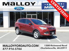 Certified Pre-owned 2016 Ford Escape SE SUV 1FMCU9GX0GUC53939 for Sale in Charlottesville, VA