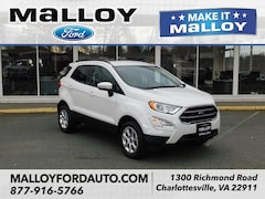 New 2018 Ford EcoSport SE SUV MAJ6P1UL6JC246878 for sale at your Charlottesville VA used Ford authority