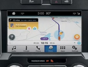 FORD SYNC 3 APPLINK WITH WAZE