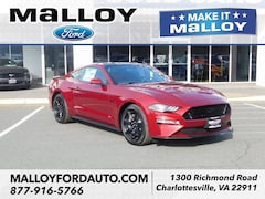 New 2019 Ford Mustang GT Coupe 1FA6P8CF7K5142314 for sale at your Charlottesville VA used Ford authority
