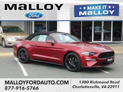 New 2019 Ford Mustang Ecoboost Premium Convertible 1FATP8UH2K5187647 for sale at your Charlottesville VA used Ford authority