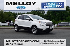 New 2018 Ford EcoSport SE SUV MAJ6P1UL1JC200651 for sale at your Charlottesville VA used Ford authority