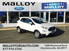 New 2019 Ford EcoSport SE SUV MAJ3S2GE8KC252283 for sale at your Charlottesville VA used Ford authority