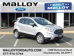 New 2019 Ford EcoSport SE SUV MAJ3S2GE2KC252893 for sale at your Charlottesville VA used Ford authority