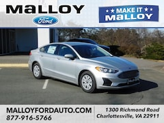 New 2019 Ford Fusion S Sedan 3FA6P0G71KR163368 for sale at your Charlottesville VA used Ford authority