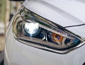 LED Headlights with Dynamic Bending Light and High Beam Assist