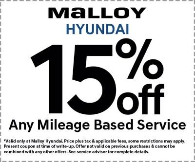 15% OFF Mileage Services