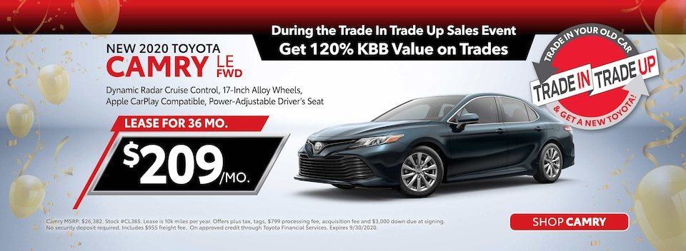 New 2020 Toyota Camry Lease