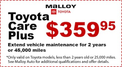 July Toyota Care Plus Special
