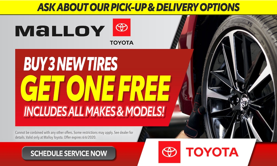 Tires - Get One Free