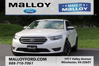 New 2018 Ford Taurus SEL Sedan 1FAHP2E80JG135485 in Winchester, VA