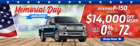 Memorial Day Car Sale >> Memorial Day Sales Event Malloy Ford Winchester