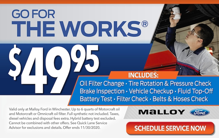service coupons malloy ford winchester ford service center malloy ford winchester ford service center