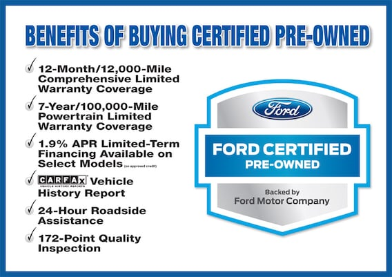 Certified Pre Owned Ford >> Ford Certified Pre Owned Inventory Malloy Ford Of Winchester